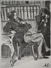 Lithograph - Honore Daumier Facsimile