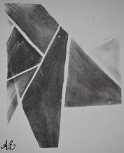 Lithograph - Stage I